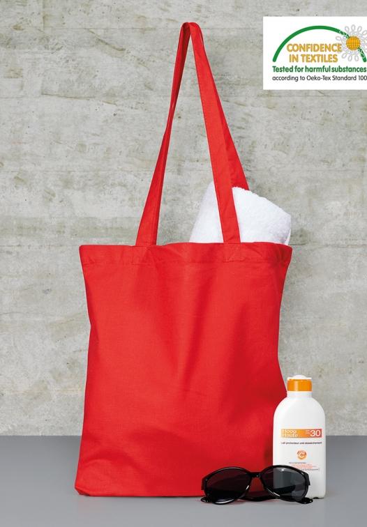 Shopper in Cotone con Manici Lunghi Bags By Jassz - Varie Colorazioni