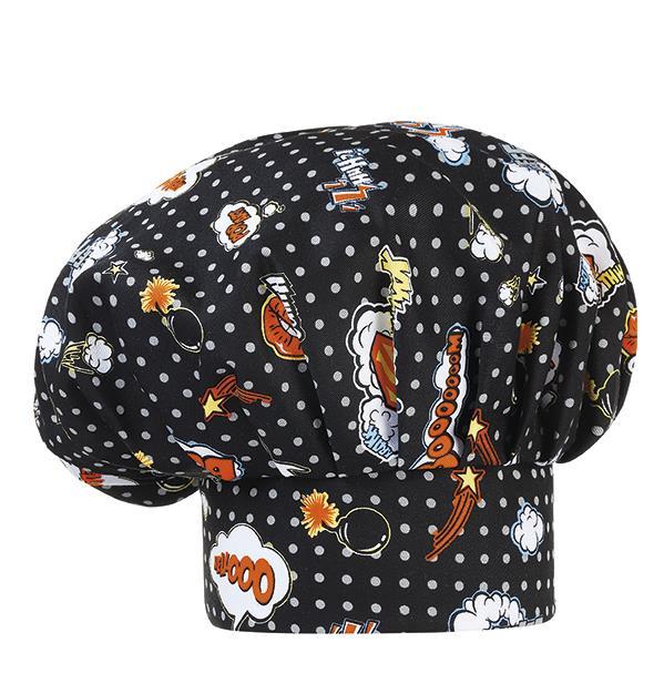Cappello Cuoco Fantasy Pop Art Ego Chef Cotone 100% 1ccdd129ae99