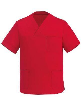 Casacca Medicale Ego Doc Modello Leonardo Colore Rosso