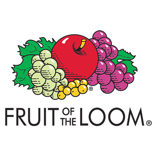 Polo Fruit of the Loom Bianca Manica Corta