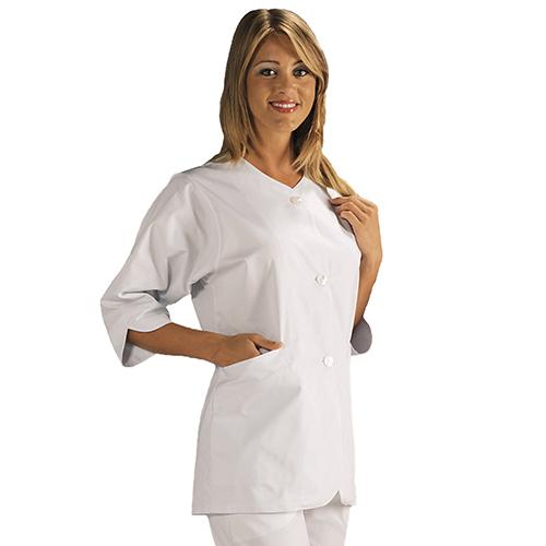Casacca Sanitaria Donna By Amelia Modello Era - Colore Bianco