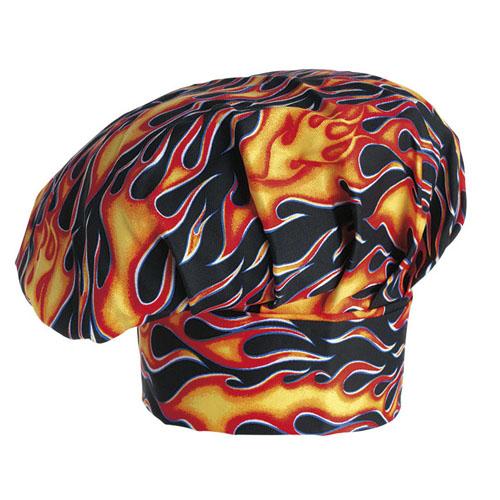 Cappello da Chef - Flames