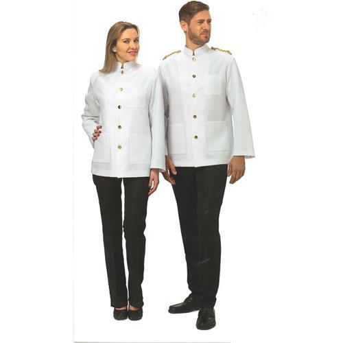 giacca coreana bianca cameriere
