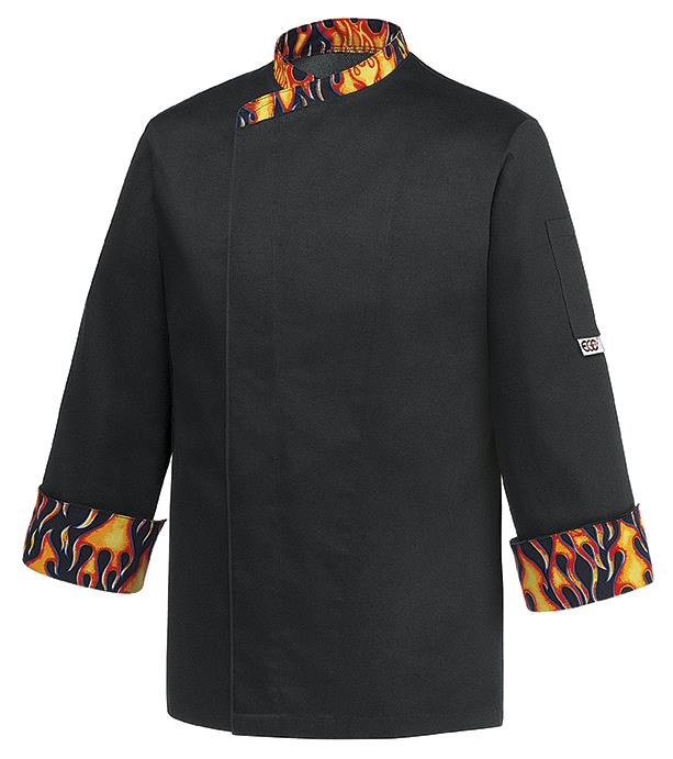 Giacca Cuoco Flame Retardant Ego Chef Cotton Rich