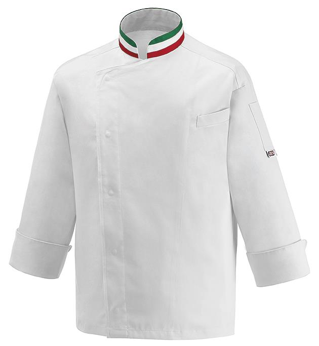 Giacca Cuoco Nations Ego Chef Cotton Rich Italia e Spagna