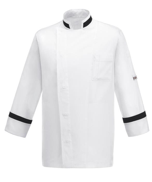Giacca Cuoco Square Neck Ego Chef Cotton Rich