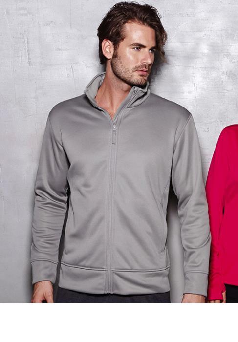 Giacca Tecnica Sport Active Bonded Fleece - Colore Grigio
