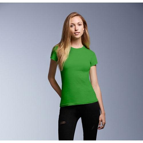 T-shirt Donna Fashion Anvil con Manica Corta