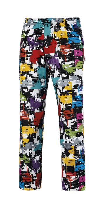 Pantalone Cuoco Coulisse Fantasy Graphic Ego Chef