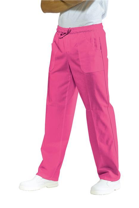 Pantalone Cuoco Isacco Elastico Vita Colore Rosa