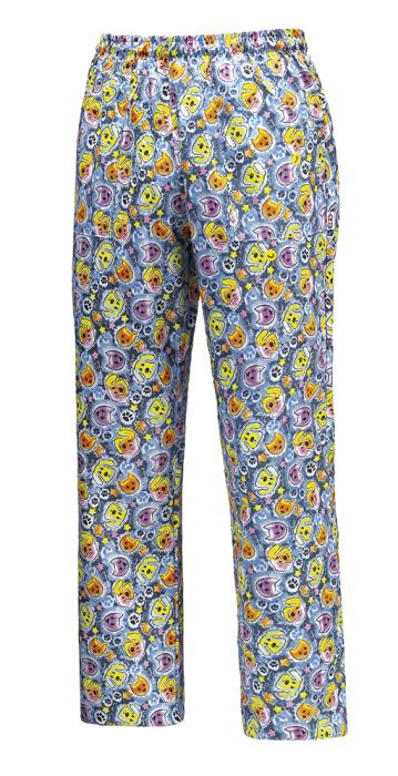 Pantalone Dogs & Cats 100%  in Microfibra con Coulisse ed Elastico in Vita