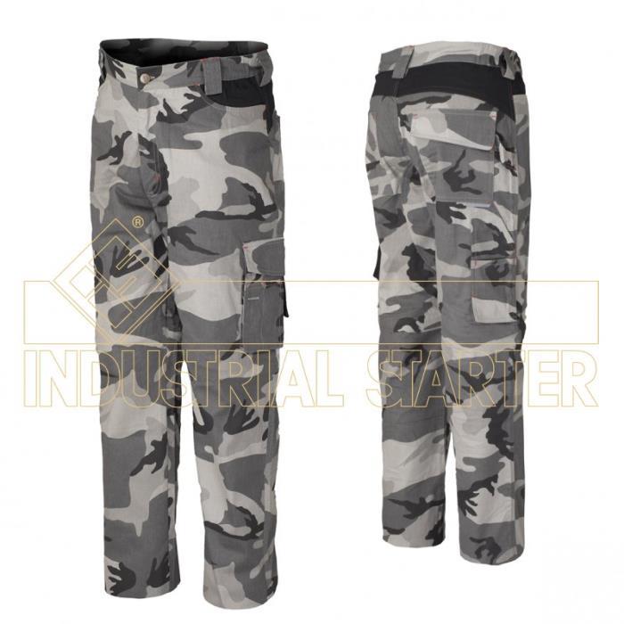 Pantalone Mimetico Invernale Industrial Starter