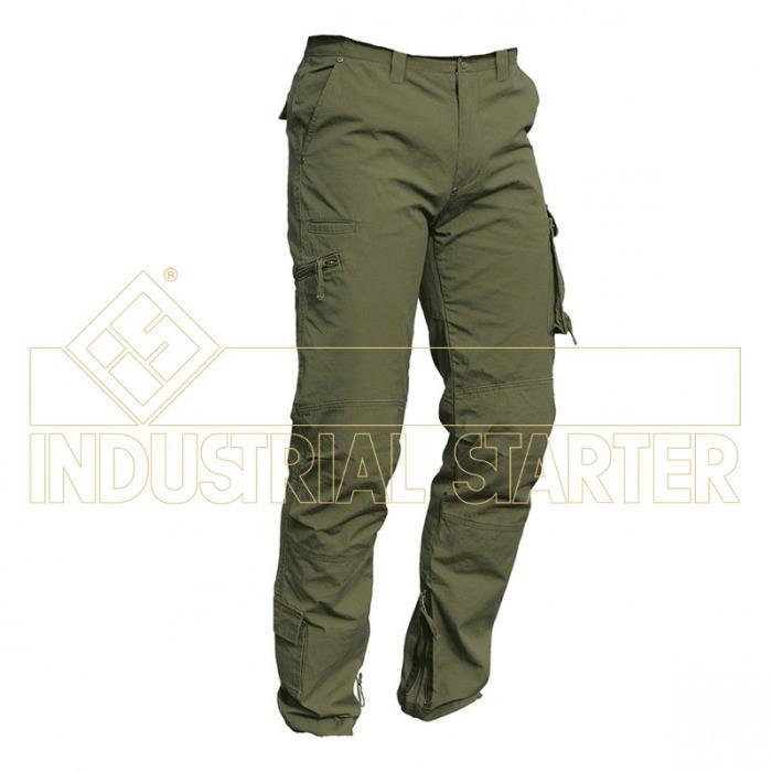 Pantalone Multitasche Industrial Starter Colore Verde