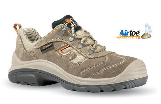 Scarpa antinfortunistica U-Power Asolo S1P colore beige