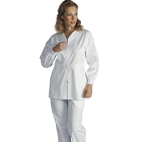 Casacca Donna Colore Bianco By Amelia Modello Afrodite