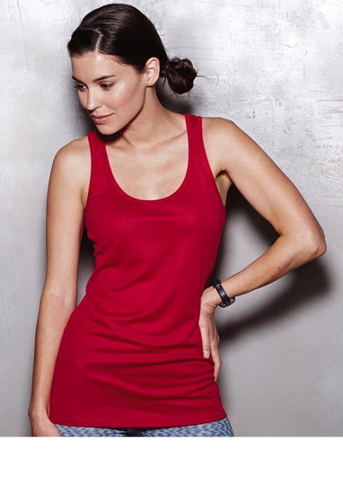 Top Sportivo Donna Active - Colore Rosso