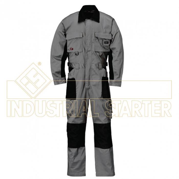 Tuta da Lavoro Stretch Industrial Starter - Colore Grigio