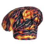 Cappello Cuoco Fantasy Flames Ego Chef
