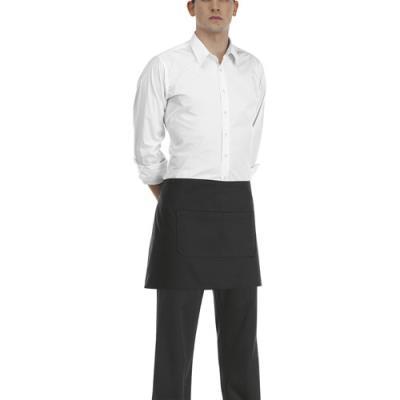 Banconiere con tascone - Colore Black cm.40x70