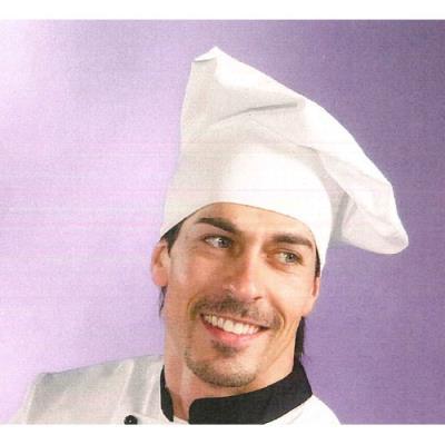 Cappello da Cuoco Rigoletto Colore Bianco Taglia Unica 4f4a21b887f6